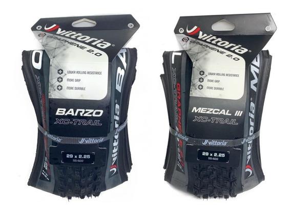 Pneu Vittoria Mezcal + Barzo 29x2.25 Grafeno 2.0 Xc Trail