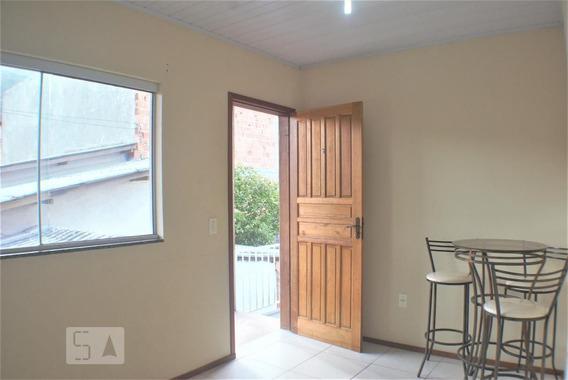 Apartamento No 1º Andar Mobiliado Com 1 Dormitório - Id: 892969433 - 269433