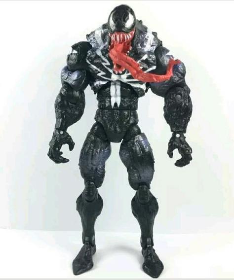 Boneco Action Figure Venom Marvel Legends Aranha Spiderman