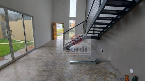 Casa Com 3 Dormitórios À Venda, 200 M² Por R$ 670.000,00 - Distrito De Bonfim Paulista - Ribeirão Preto/sp - Ca2939