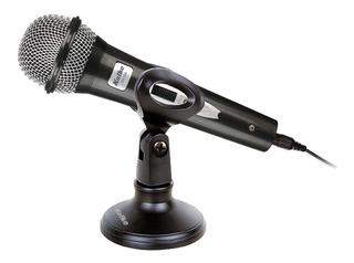 Microfono Karaoke Pc Kolke Kpi 268 Con Soporte Pedestal 3mts