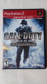 Call Of Duty World At War Final Fronts Ps2 100% Original