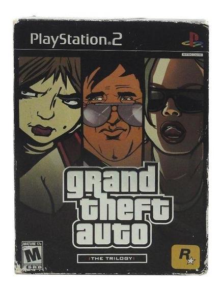 Grand Theft Auto The Trilogy Ps2 Mídia Física Pronta Entrega