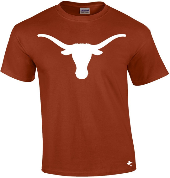 Playera Texas Longhorns Cuernos Largos Tigre Texano Designs