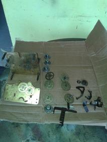 Lote De Peças Do Relógio Silco Maquina B 52 Silco Antigo