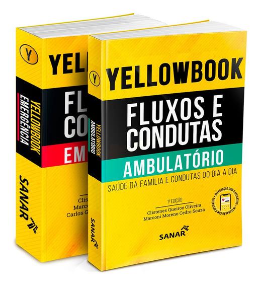 Combo Yellowbook: Emergência E Ambulatório - Livro Medicina
