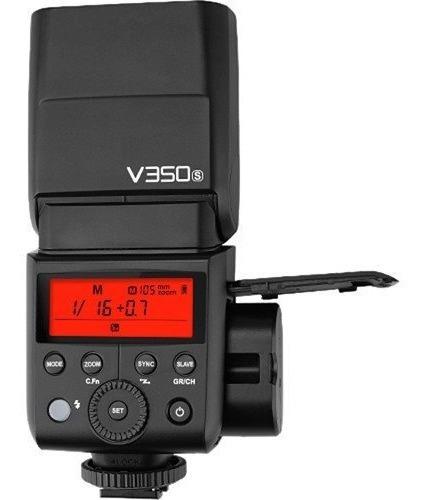 Flash Godox Mini Ving V350 Sony Com 2 Baterias Hss