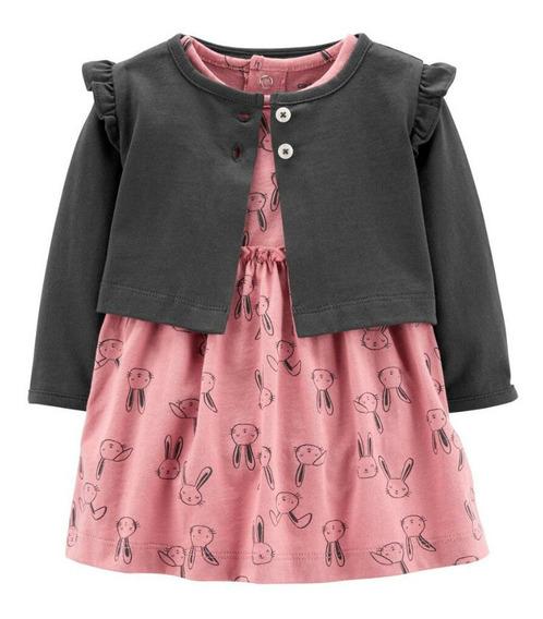 Vestidos Carters Con Sweater Ligero Ropa Bebe Niña Elegir Modelo