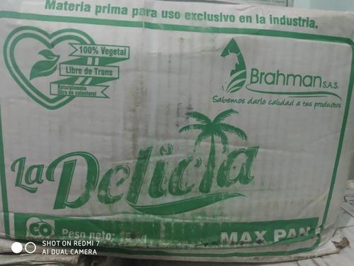 Imagen 1 de 2 de Mantequilla Para Panaderias Marca Marcrem Y La Delicia Caja