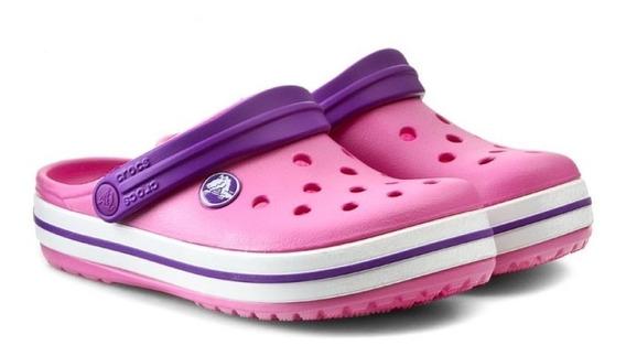 Crocs Crocband Kids Neon Magenta-purple