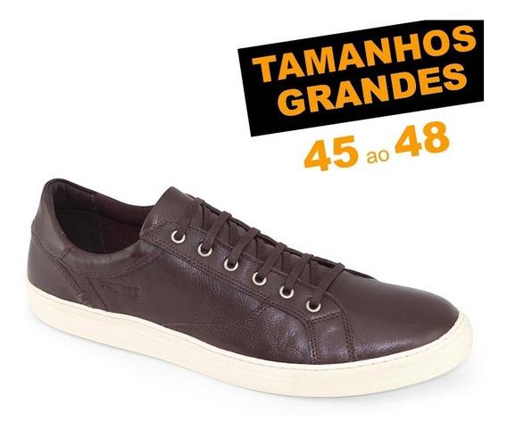 Sapatênis Probs7 Snap Café Tamanhos 45 46 47 48