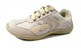 Zapatillas Con Cordon Brillo Glitter Nena 30-35 Children´s