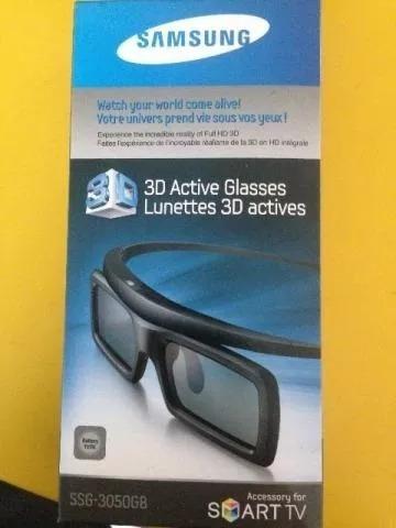 Óculos 3d Active Glasses Lunettes Samsung Ssg-3050gb