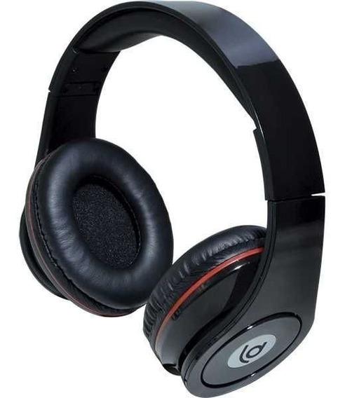 Fone De Ouvido Loud Dinamic Headphone Stereo Microfone Preto