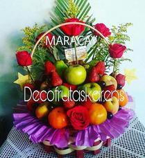 Arreglos Frutales, Ramos De Frutas, Decofrutas, Maracay