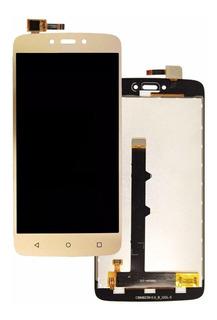 Frontal Tela Display Moto C Xt1750 Xt1754 Xt1756 + Fita