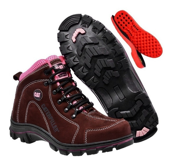 Coturno Bota Caterpillar Adventure Feminino Original Cat-!!!
