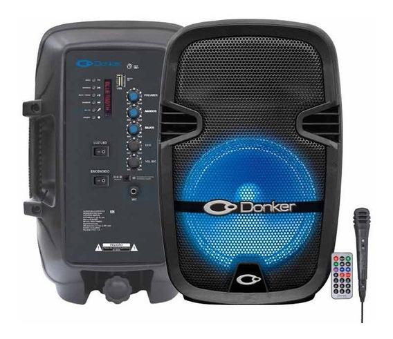 Bafle Profesional Recargable 15 25,000w Microfono Donker