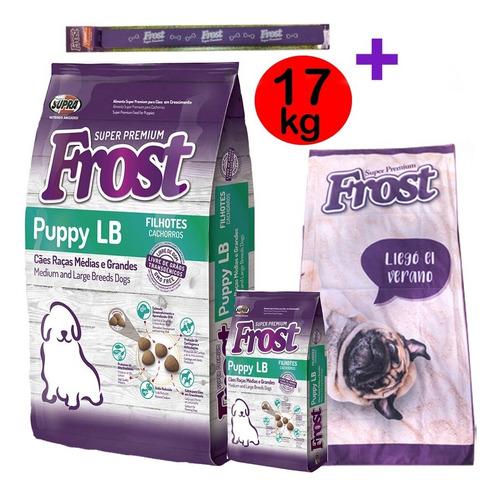 Frost Cachorro Razas Grandes 15kg Mas Regalo
