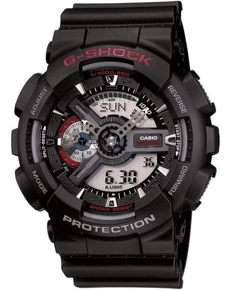 Relogio Casio G-shock Ga-110-1adr + Garantia + Nfe Ga110