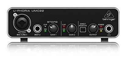 Imagen 1 de 4 de Interfaz De Audio Behringer (umc22)