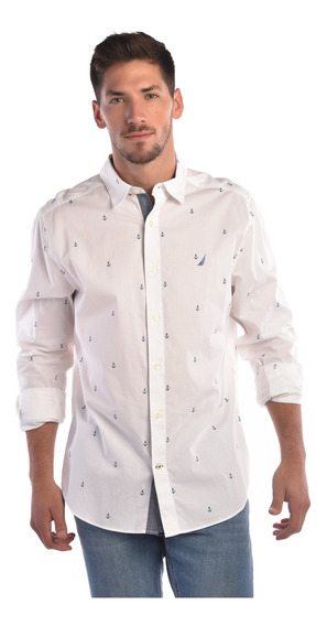 Camisa Nautica W81100 Hombre