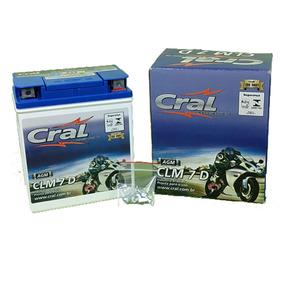 Bateria Moto Cral Honda Lead 110 /12 7ah 12v Clm7d