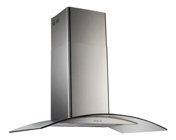 Campana De Cocina Tst Lacar Cristal 60cm Pared Con Motor