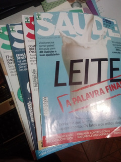 Revista Saúde É Vital Editora Abril - Combos Anuais