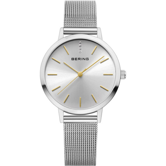 Reloj Bering Classic Collection Acero Plata Mujer 13434 001