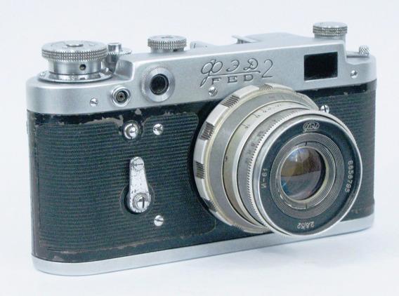 Máquina Fotográfica F E D 2, Analógica. Rarissima.usada