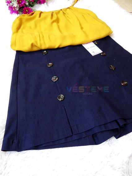 2 Short Saia+2 Brindes+envio 24h +roupas Femininas Plus Size
