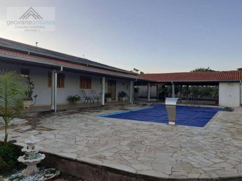 Imagem 1 de 28 de Chácara Com 3 Dormitórios À Venda, 1000 M² Por R$ 480.000,00 - Bairro Dos Pires - Limeira/sp - Ch0010