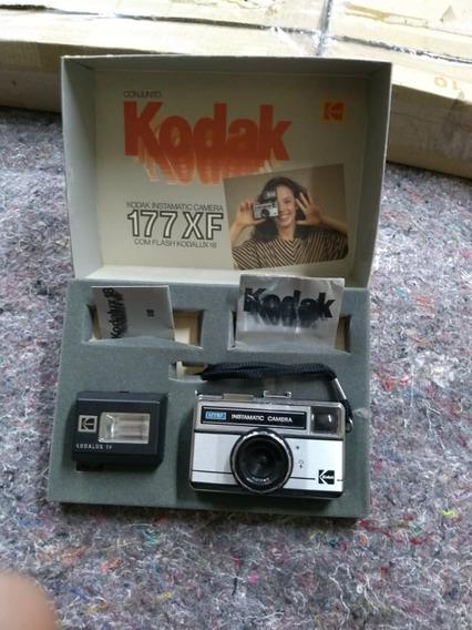 Camera Fotografica 177xf Instamatic Kodak Antiga Anos 80