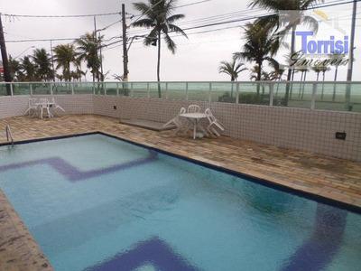 Apartamento Em Praia Grande, 01 Dormitório,prédio Com Elevador, Piscina, Salão De Jogos,festas,churrasqueira Na Ocian Ap1682 - Ap1682
