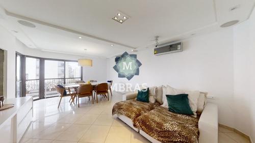 Amplo Apartamento Com Excelente Localização Em Uma Das Melhores Quadras Do Campo Belo. - Mb10594