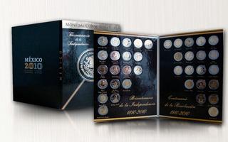 Album Monedas 5 Pesos Independencia Revolucion C/regalo