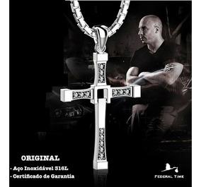 Colar Cruz Filme Velozes Furiosos Original Toretto V Diesel