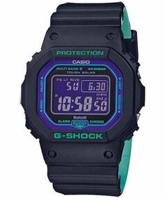 Relogio Masculino Casio G-shock Gw-b5600bl-1d Bluetooth