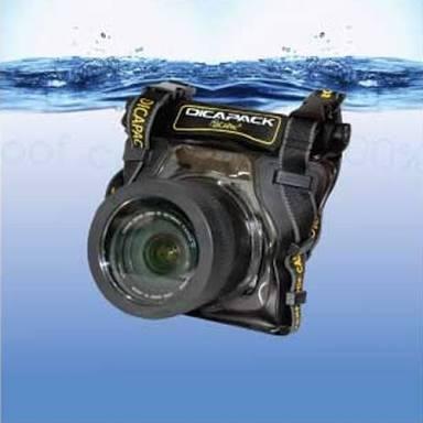 Capa Aquática P/ Câmeras Profissionais Estanq Orig Dicapac