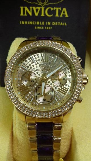 Relógio Invicta Feminino Angel 20508 Lindo E 100% Original!!