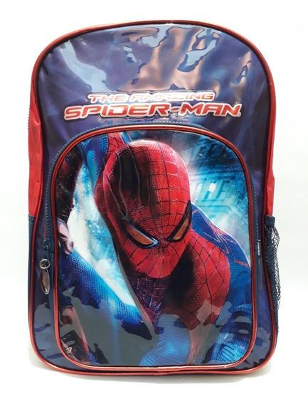 Mochila Spiderman Espalda 16 Pulg The Amazing Spiderman