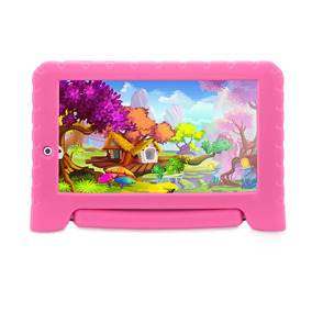 Tablet Multilaser Kid Pad Plus Memória 8gb Nb279 - Rosa
