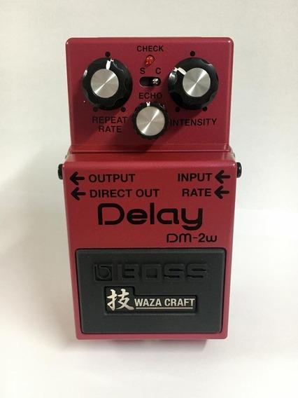 Pedal De Efeito Boss Dm-2w Delay - Dm2w C/ Nota Fiscal