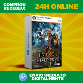 Age Of Empires 2 Hd - Pc - Todas As Expansões + Envio 0
