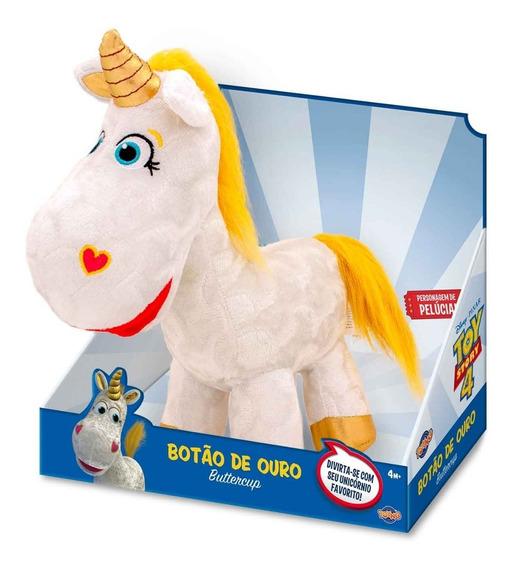 Toy Story 4 Pelucia Unicornio Botao De Ouro