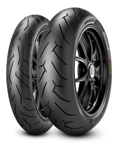 Combo Llantas Mt03 Duke390 Cb190 Pirelli Diablo Rosso 2