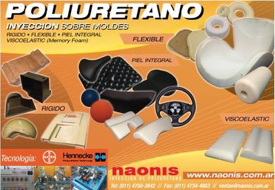 Inyeccion De Poliuretano - Rigido - Flexible - Piel Integral