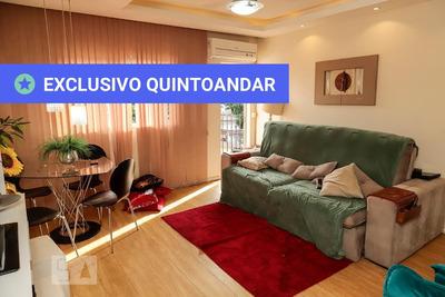 Apartamento No 2º Andar Com 2 Dormitórios E 1 Garagem - Id: 892906124 - 206124