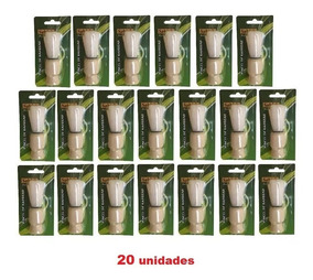 Pincel De Barbear Cabo De Madeira Sekich * 20 Unidades